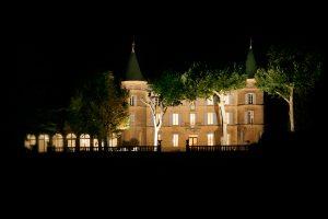 Château de Robernier de nuit